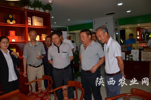 贵州省农委副主任胡继承来陕考察-陕西农业网